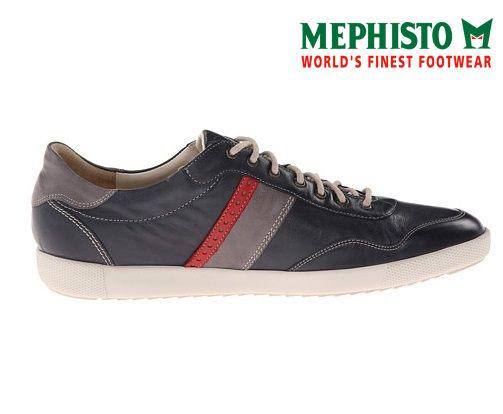 Mephisto 法國工藝皮革休閒鞋 墨綠 3