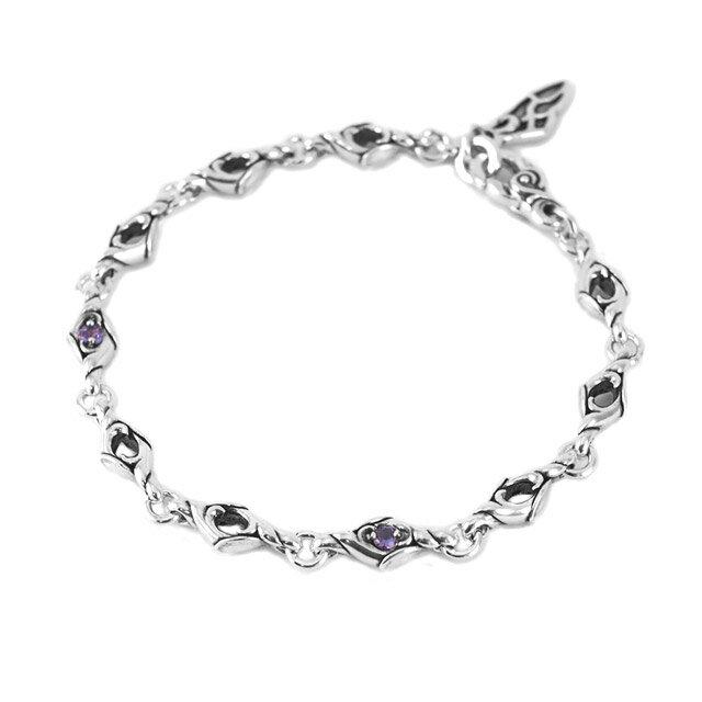 【海外訂購】【Bloody Mary】Spark 紫水晶純銀手鍊 20cm (BMB1352-A-20  085564B800) 0