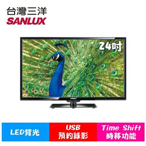 《特促可議價》SANLUX台灣三洋【SMT-24MV7】24吋LED液晶顯示器【小蔡電器】