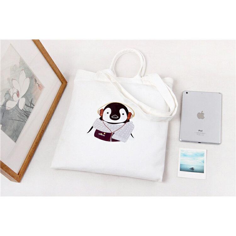 手提包 手提包 帆布袋 手提袋 環保購物袋--手提/單肩/拉鏈【SPA94】 BOBI  10/06 2