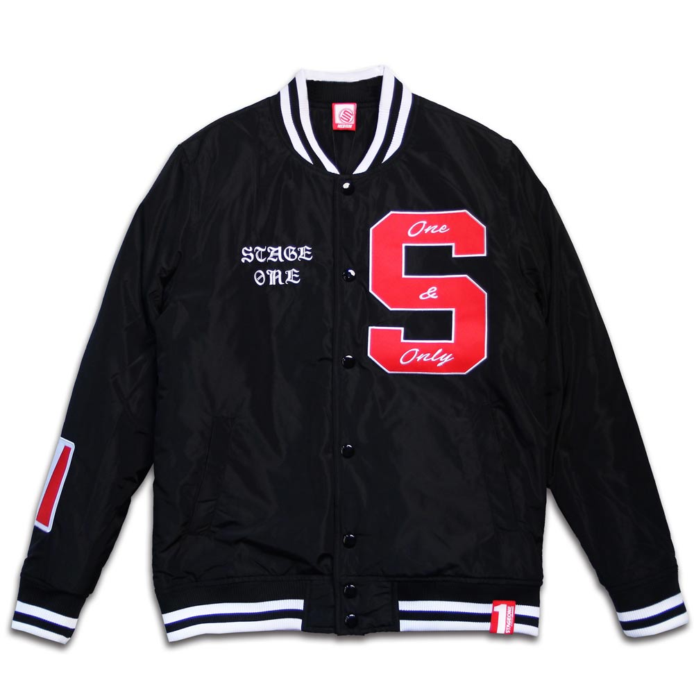 STAGEONE ONE STADIUM JACKET 黑色 / 紅色 兩色 7
