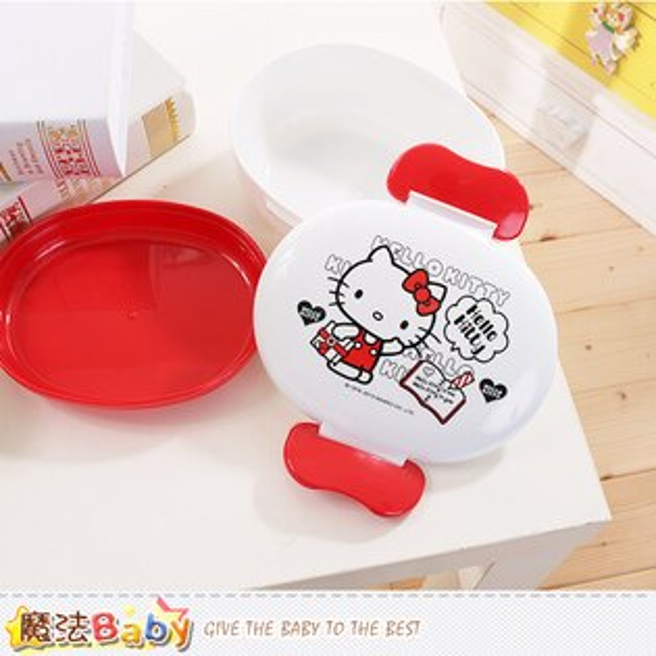 Hello Kitty授權正版便當盒 魔法Baby~c0130