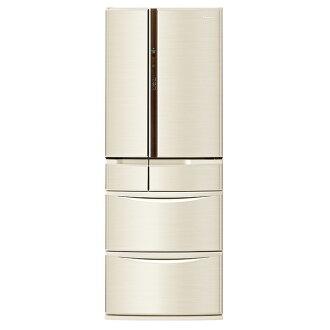 【國際牌Panasonic】ECONAVI旗艦日本製  505L六門變頻冰箱。香檳金/(NR-F510VT/NR-F510VT-N1)