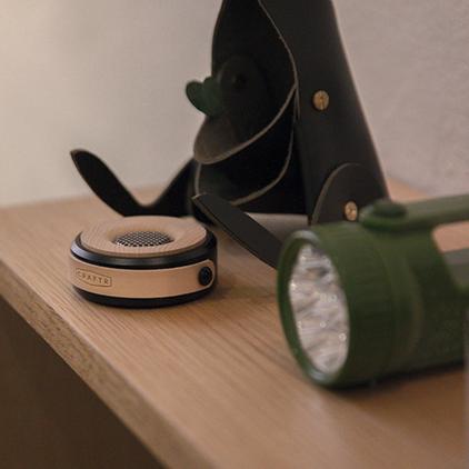 【Limiteria】CRAFTR WOOFER 原木金屬座式擴香器 生活居家車用香氛 精油 香水 禮物 隨身配件 桌上擺飾