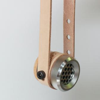 【Limiteria】CRAFTR TWITTER 皮環金屬掛式擴香器 生活居家車用香氛 精油 香水 禮物 隨身配件 桌上擺飾