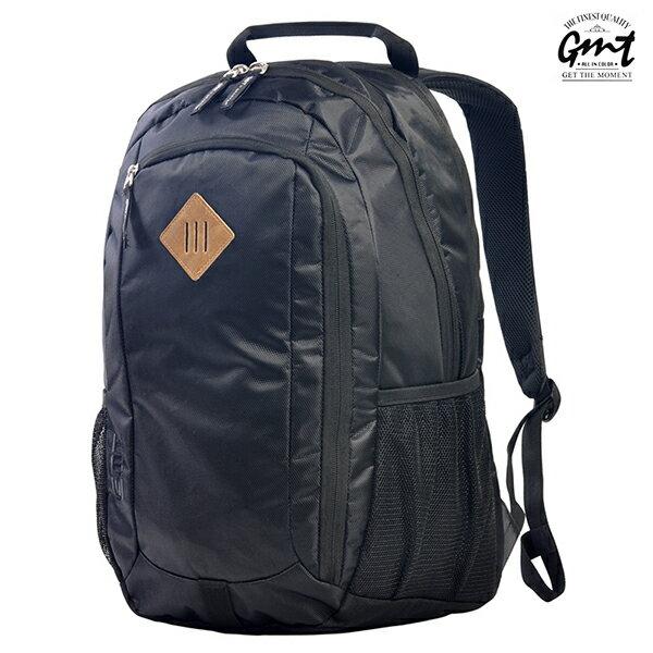 E&J【011009-01】免運費,GMT挪威潮流品牌 專業電腦背包 黑色 附15吋筆電夾層;登山包/雙肩豬鼻包