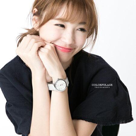 范倫鐵諾Valentino 經典玫瑰金刻度陶瓷手錶對錶腕錶 中性款男女皆可 柒彩年代【NE1571】單支售價 0