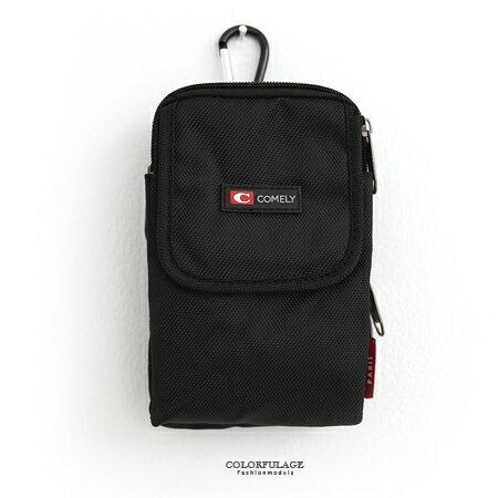腰包 多功能簡約輕巧尼龍實用掛包 隨身側背包/手機包/零錢包 柒彩年代【NZ439】單個售價 0