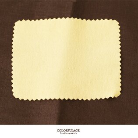MIT拭銀布 925純銀.金飾.鋼飾.合金飾品擦拭布 飾品保護膜 柒彩年代【NL147】單片包裝