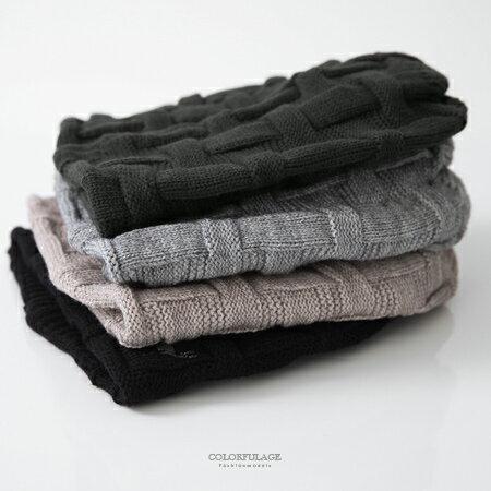 毛帽 MIT麋鹿格紋針織帽 柒彩年代【NMA9】單頂 - 限時優惠好康折扣