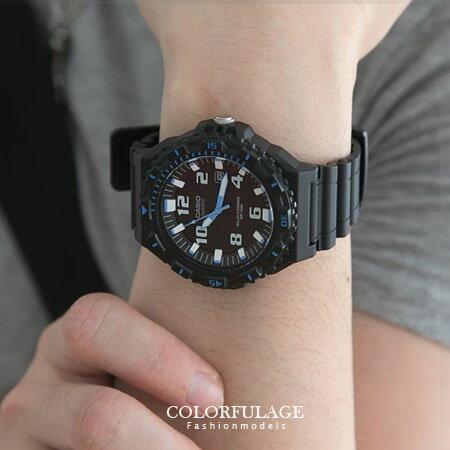 CASIO日本卡西歐環保太陽能錶盤手錶 完美旅程潛水運動風腕錶100M防水 柒彩年代【NE1238】原廠貨 0