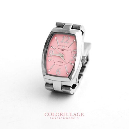 Valentino范倫鐵諾 經典小酒桶馬卡龍色系腕錶手錶 奧地利水鑽 柒彩年代【NE1225】原廠公司貨 0