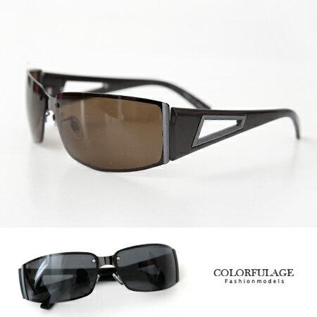 偏光運動太陽眼鏡 防風過濾紫外線墨鏡 舒適軟鼻墊服貼設計不易滑落 柒彩年代【NY269】抗UV400 0