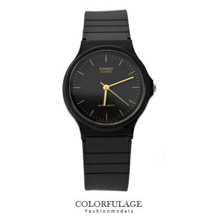 CASIO卡西歐經典基本款手錶 有保固 金色刻度中性款腕錶 超輕巧設計 柒彩年代【NE1338】原廠公司貨
