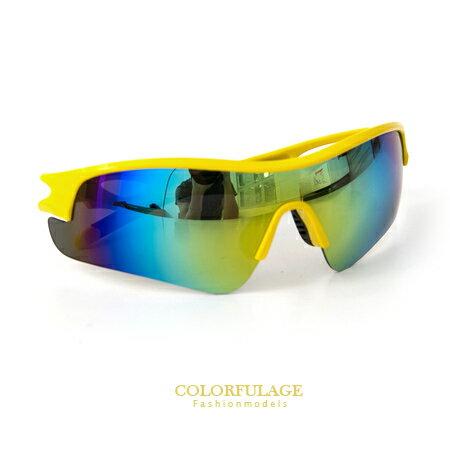 太陽眼鏡 墨鏡 抗UV400 運動必備 舒適軟鼻墊設計 路跑.自行車.登山必備 6色 柒彩年代【NY283】MIT 0