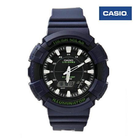 CASIO 日本卡西歐雙顯多時區太陽能雙顯電子膠錶 有保固優質店家 柒彩年代【NE1446】原廠公司貨 0