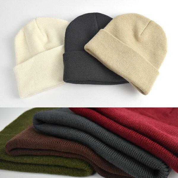 柒彩年代【NH35】型男可反摺保暖厚實長版毛帽 韓版品味~單頂價格 0