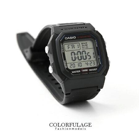 手錶 CASIO卡西歐基本多功能電子運動錶 潮流中性腕錶 有保固 柒彩年代【NE1138】原廠公司貨 0