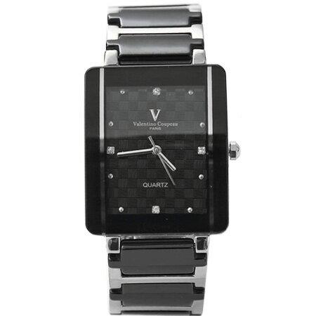 Valentino范倫鐵諾 經典格紋錶盤設計精密陶瓷手錶腕錶 柒彩年代【NE1047】原廠公司貨 0