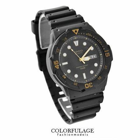 CASIO卡西歐 耀金中性手錶 休閒運動腕錶 防水100米 輕巧無負擔 柒彩年代【NE1147】原廠公司貨 0