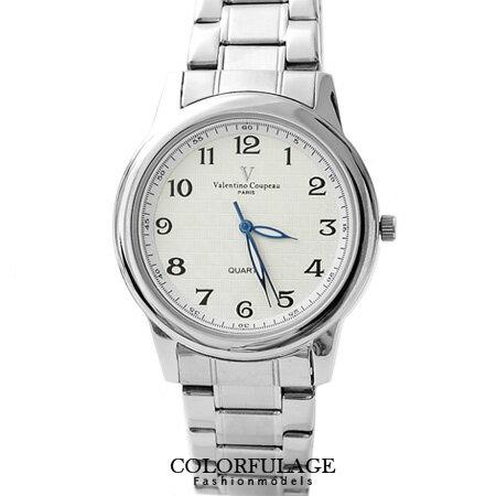 Valentino范倫鐵諾 經典格紋不鏽鋼手錶對錶 原廠公司貨 柒彩年代【NE994】單支 0