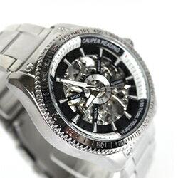 柒彩年代-機會只有一次【NE140】雙面鏤全鏤空時尚自動上鍊機械錶.鋼錶帶 0