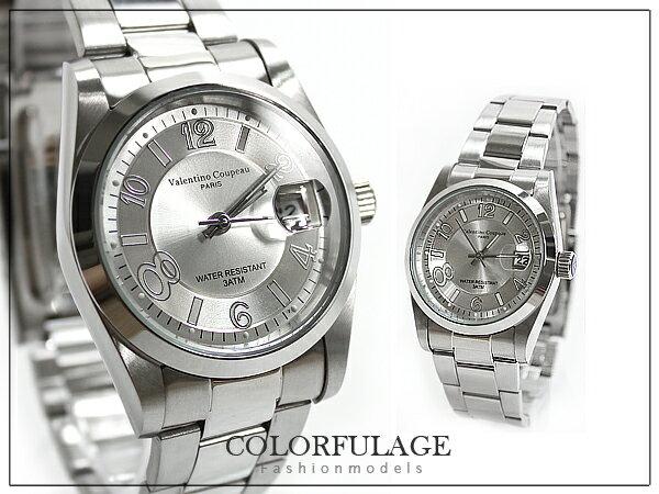 柒彩年代【NE304】精品錶款 范倫鐵諾Valentino 百搭中性全不鏽鋼材質~單支價格 0