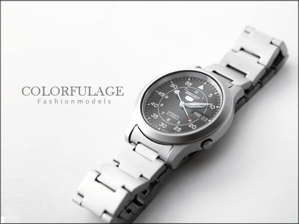 柒彩年代˙日本精工五號SEIKO軍用機械腕錶 型男首選禮物霧面材質【NE619】 0
