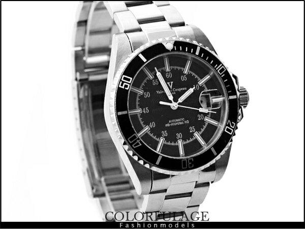 柒彩年代˙夜明珠氚氣機械錶 范倫鐵諾Valentino手錶 藍寶石鏡面【NE609】原廠公司貨 0