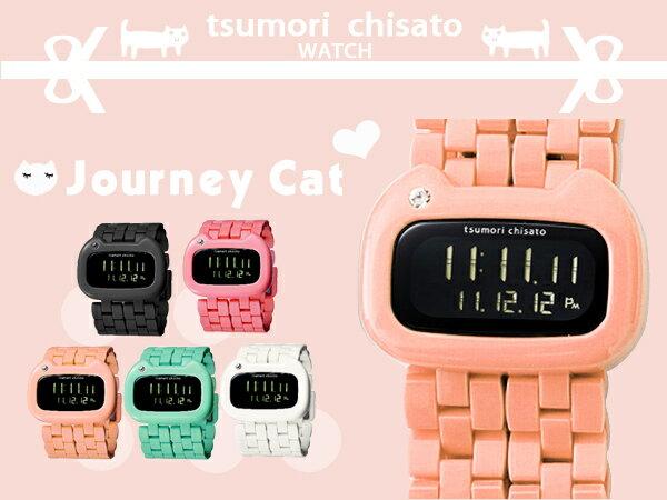 旅貓津森千里 tsumori chisato獨家日系手錶 Journey Cat限量錶款 柒彩年代【NE776】原廠公司貨 0