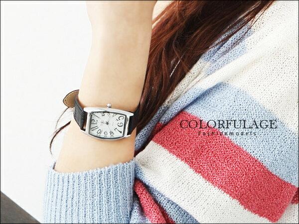 Valentino范倫鐵諾方型酒桶錶