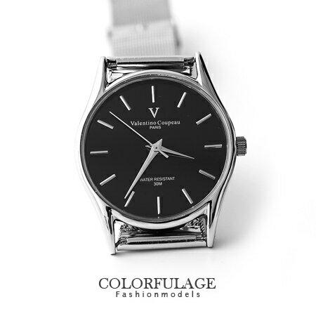 Valentino范倫鐵諾 超薄鏡面鋼索手錶婉錶 輕巧無負擔 原廠公司貨 柒彩年代【NE954】單支 0