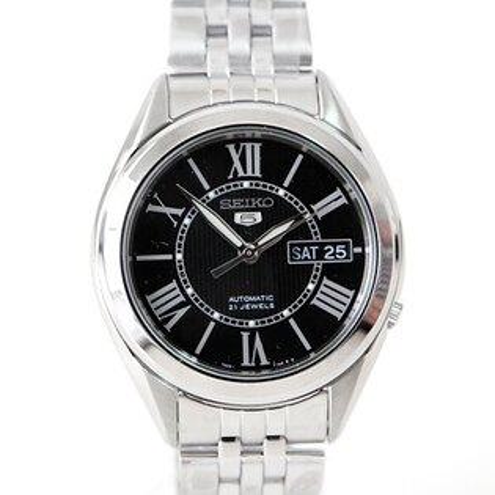 精工五號SEIKO自動上鍊機械錶 經典羅馬刻度 柒彩年代【NE256】精選禮物 贈禮盒+提袋