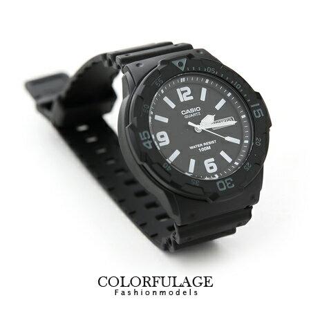 CASIO卡西歐100米防水軍裝手錶 路跑運動型中性腕錶 有保固優質店家 柒彩年代【NE1060】原廠公司貨 0
