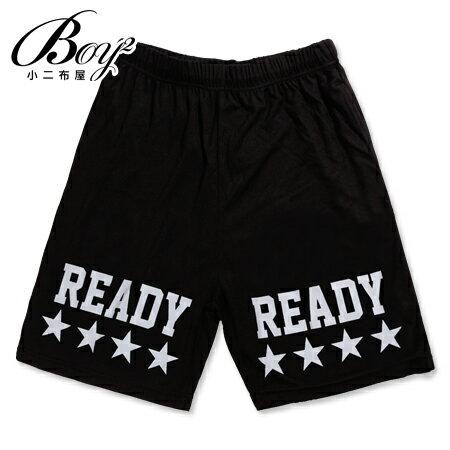☆BOY-2☆【KK2541】運動短褲美式潮流休閒星星伸縮READY五分褲 0