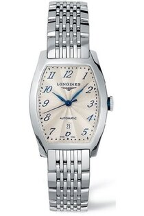 LONGINES L21424736典藏酒桶機械腕錶/米白面/26*30.6mm