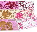kitty丹尼爾雙子星美樂蒂淘氣猴大寶紅包袋新年系列4入組底色金銀蔥款932441海度