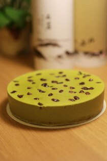[丹尼爾幸福廚房]紅豆抹茶乳酪蛋糕