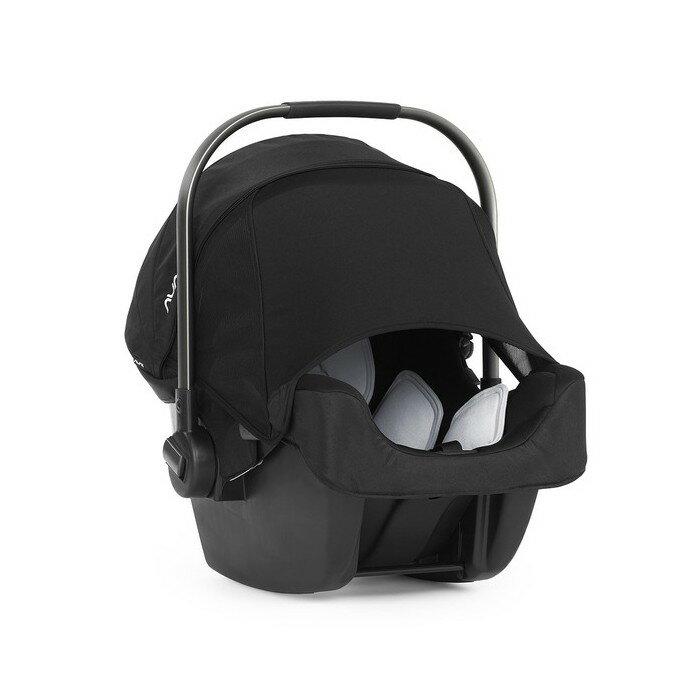 NUNA - PIPA提籃型汽座 (黑) 贈品牌手提袋+可愛玩偶吊飾! - 限時優惠好康折扣