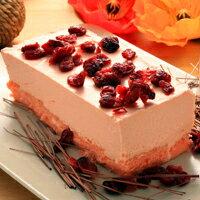 彌月禮盒推薦山田村一【彌月蛋糕也合適唷】蔓越草莓慕斯