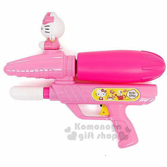 〔小禮堂韓國館〕Kitty 水槍玩具《粉.坐姿.泡殼》適合8歲以上兒童