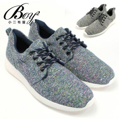 ☆BOY-2☆【NKP-RP07】休閒鞋 混色織紋慢跑鞋 0