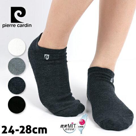 【esoxshop】皮爾卡登 Logo船型氣墊襪 休閒毛巾襪 台灣製