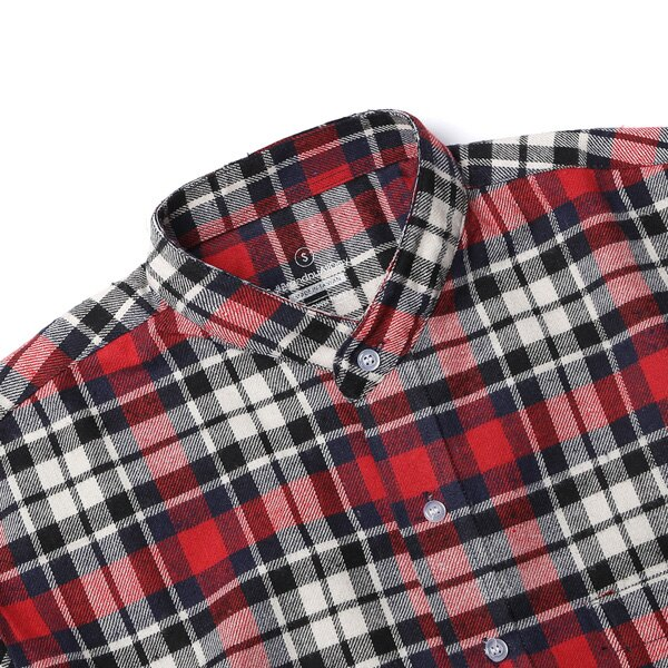 【EST】Brandnu Fy$ Flannel Shirts 法蘭絨 格紋 長袖 襯衫 紅 [BN-0007-069] G0208 2