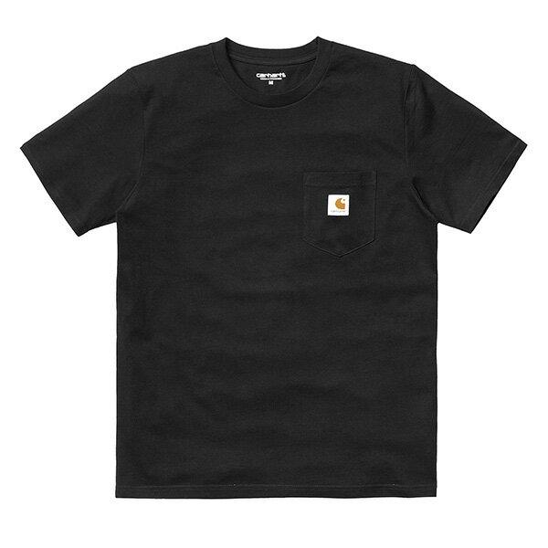 【EST】Carhartt S/S Pocket T-Shirt 美版 口袋 短tee 黑 [CA-0001-002] G0817 0
