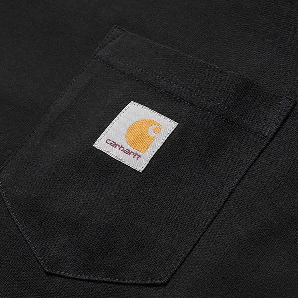 【EST】Carhartt S/S Pocket T-Shirt 美版 口袋 短tee 黑 [CA-0001-002] G0817 2