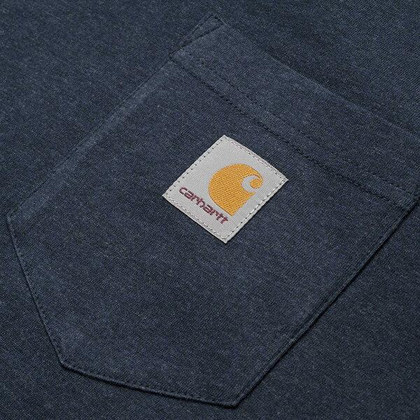 【EST】CARHARTT S/S POCKET T-SHIRT 美版 口袋 短TEE 藍 [CA-0001-083] G0817 2