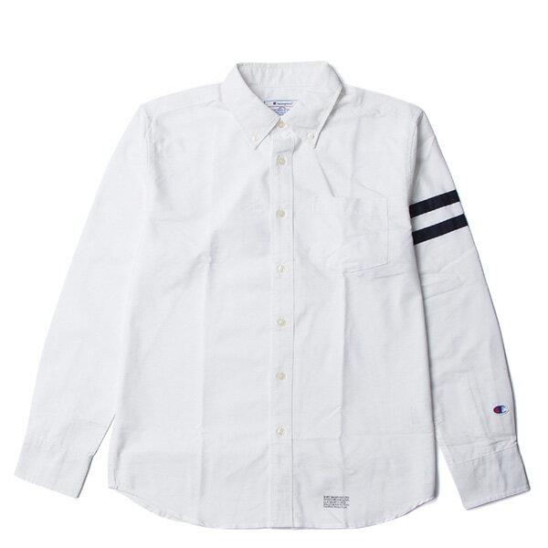 【EST】CHAMPION 日版 F405 CAMPUS 長袖 襯衫 白 [CH-0019-001] G0107 0