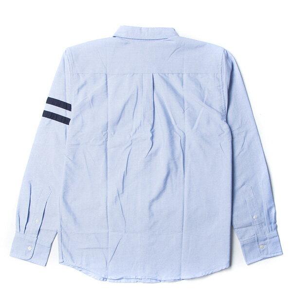 【EST】Champion 日版 F405 Campus 長袖 襯衫 深藍 [CH-0019-086] G0107 1