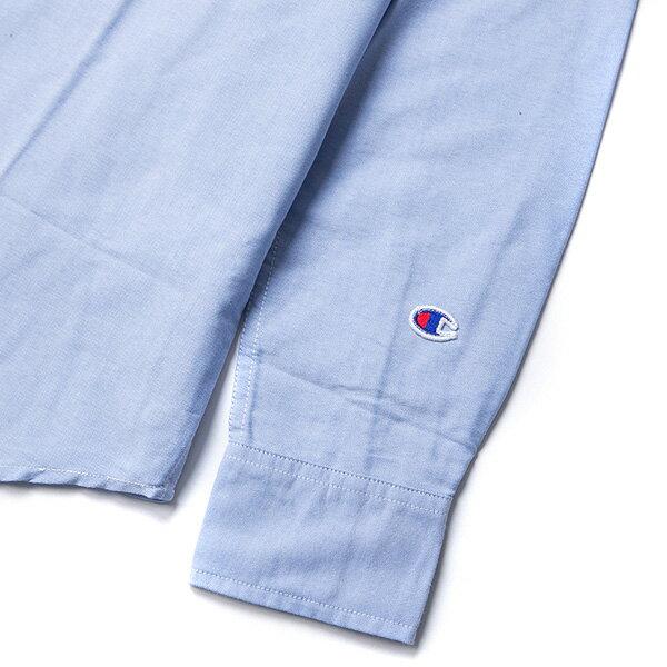 【EST】Champion 日版 F405 Campus 長袖 襯衫 深藍 [CH-0019-086] G0107 4